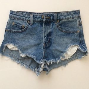 NWOT Forever 21 Cut-off Shorts